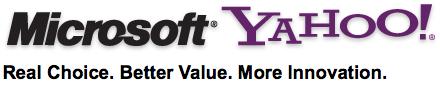 Microsoft and Yahoo!